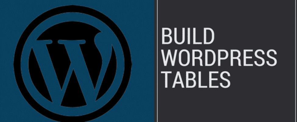 How to Build Tables in WordPress - Web Monkey